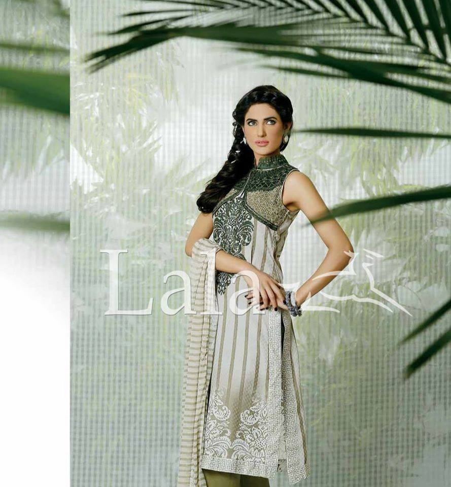 La Femme Kurtis By Lala Textiles Spring Summer Dresses Collection 2015-2016 (24)