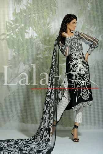 La Femme Kurtis By Lala Textiles Spring Summer Dresses Collection 2015-2016 (25)