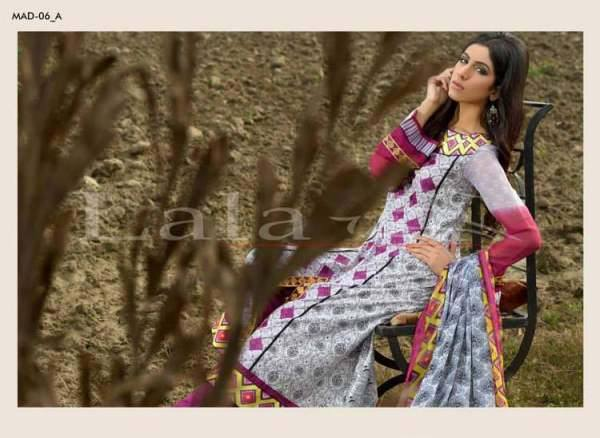 La Femme Kurtis By Lala Textiles Spring Summer Dresses Collection 2015-2016 (27)