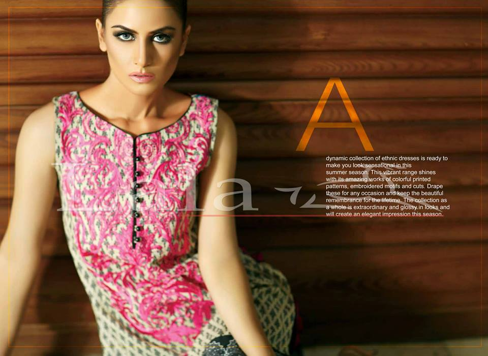 La Femme Kurtis By Lala Textiles Spring Summer Dresses Collection 2015-2016 (29)