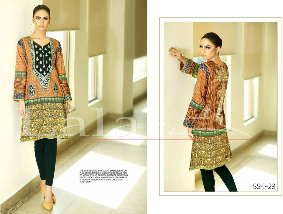 La Femme Kurtis By Lala Textiles Spring Summer Dresses Collection 2015-2016 (3)