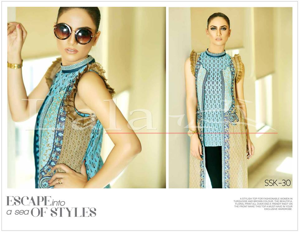 La Femme Kurtis By Lala Textiles Spring Summer Dresses Collection 2015-2016 (30)