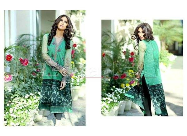 La Femme Kurtis By Lala Textiles Spring Summer Dresses Collection 2015-2016 (32)