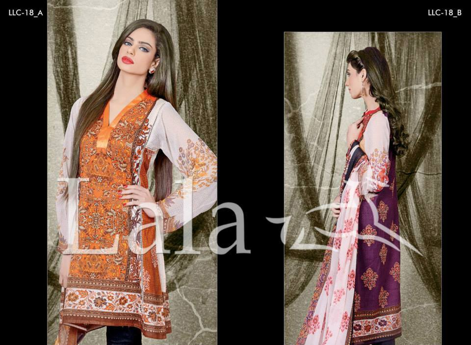 La Femme Kurtis By Lala Textiles Spring Summer Dresses Collection 2015-2016 (34)