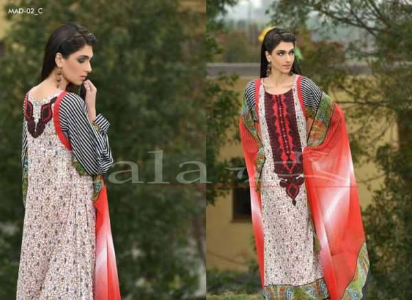 La Femme Kurtis By Lala Textiles Spring Summer Dresses Collection 2015-2016 (4)