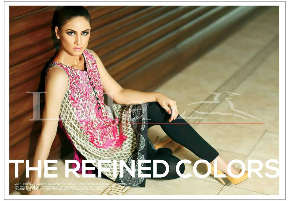 La Femme Kurtis By Lala Textiles Spring Summer Dresses Collection 2015-2016 (6)