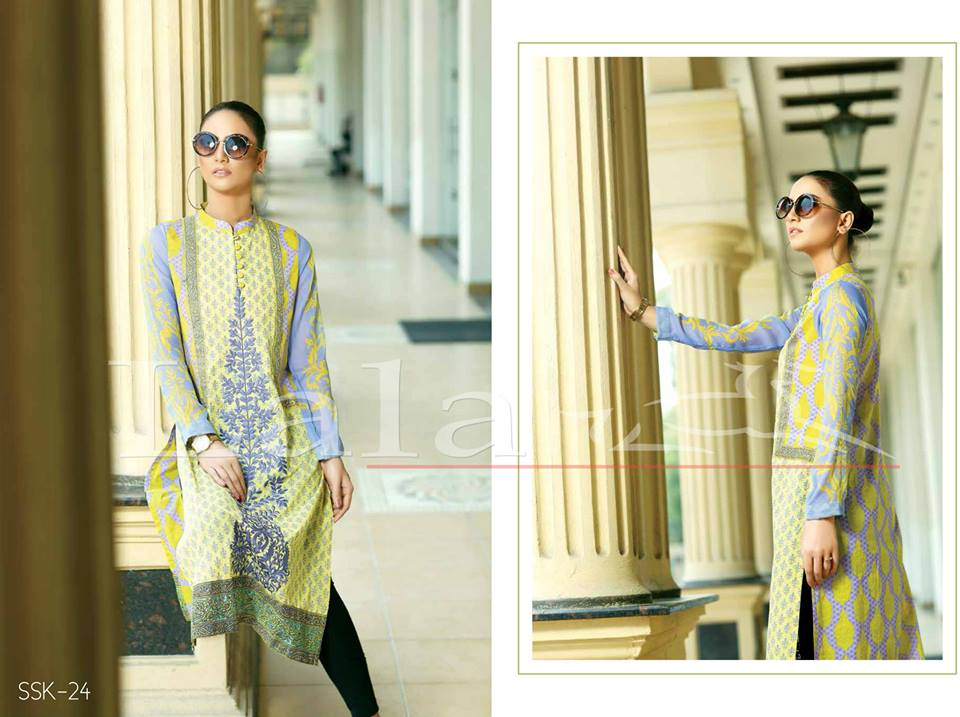 La Femme Kurtis By Lala Textiles Spring Summer Dresses Collection 2015-2016 (7)