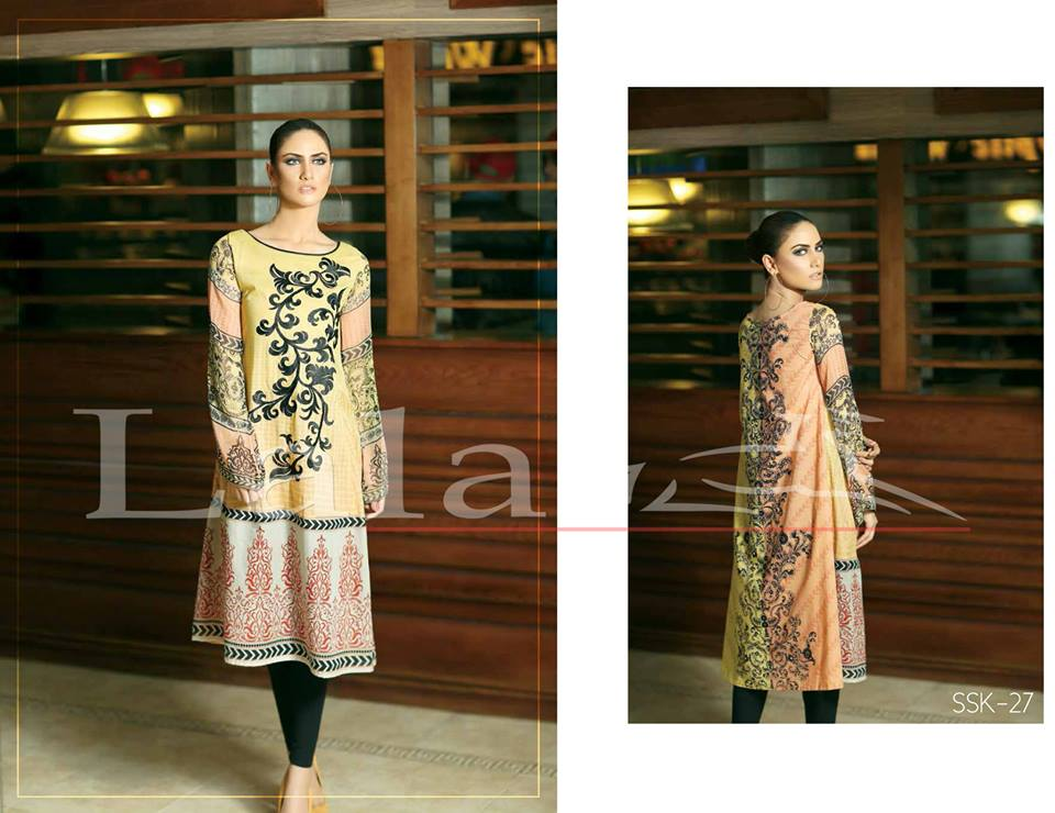 La Femme Kurtis By Lala Textiles Spring Summer Dresses Collection 2015-2016 (8)
