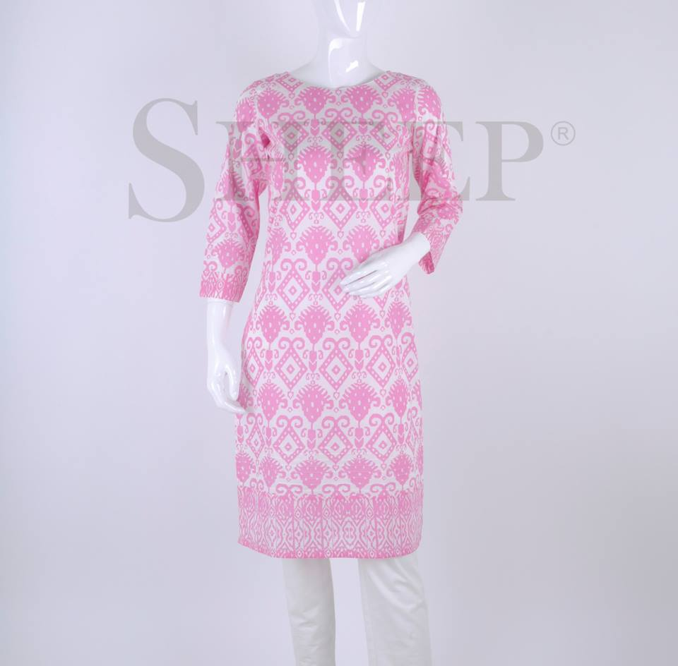 Latest Designs of Casual Formal Kurtis Fancy Embroidered Collection by SHEEP 2015-2016 (12)