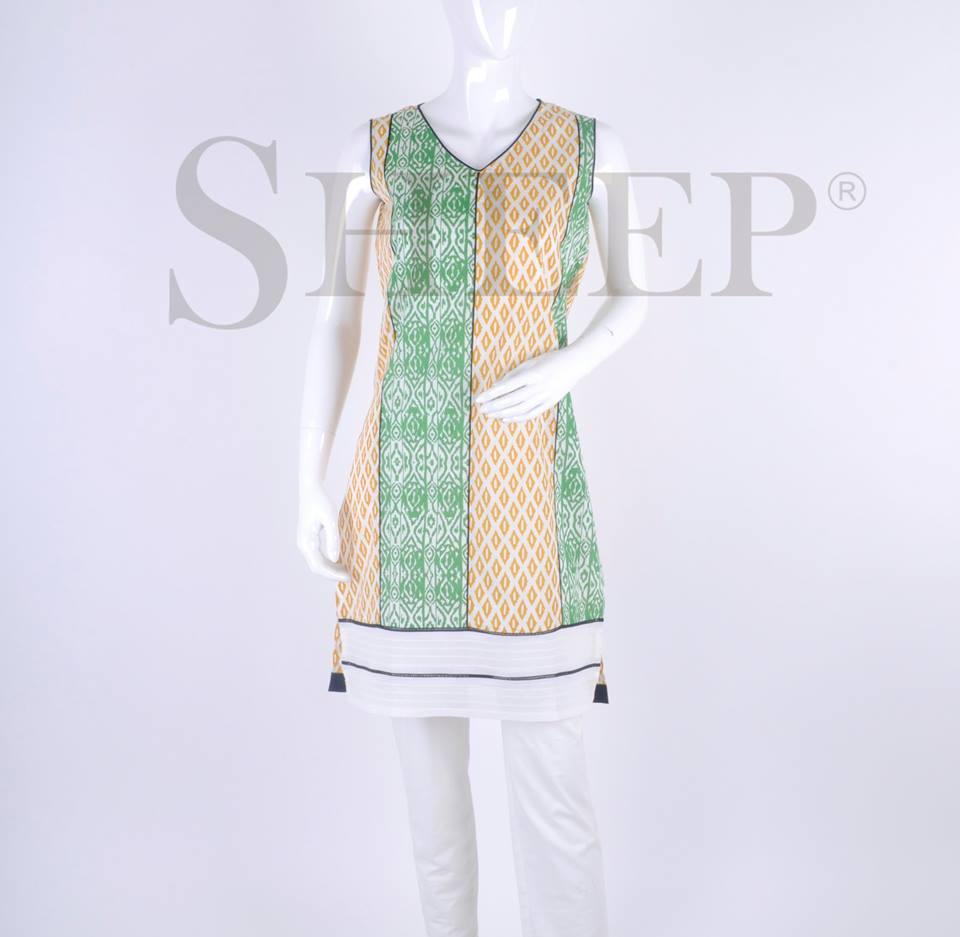 Latest Designs of Casual Formal Kurtis Fancy Embroidered Collection by SHEEP 2015-2016 (13)