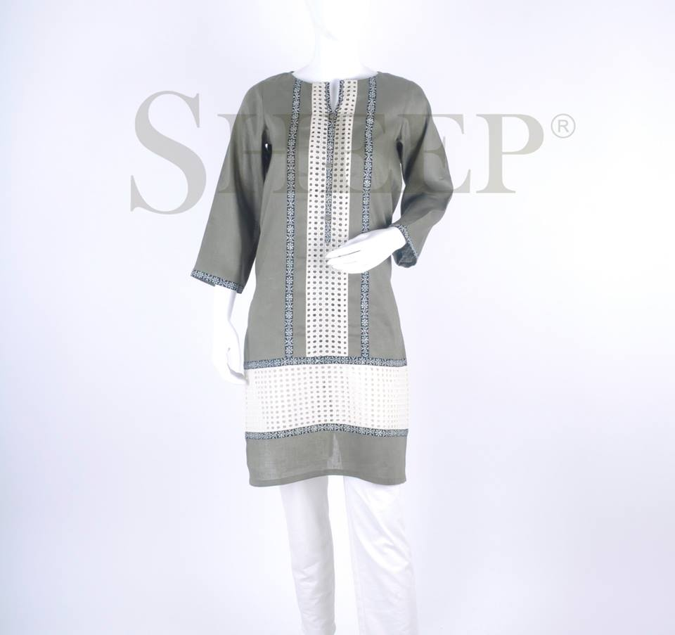 Latest Designs of Casual Formal Kurtis Fancy Embroidered Collection by SHEEP 2015-2016 (22)