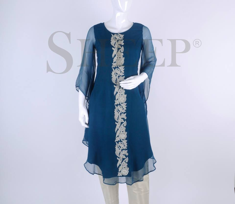 Latest Designs of Casual Formal Kurtis Fancy Embroidered Collection by SHEEP 2015-2016 (27)
