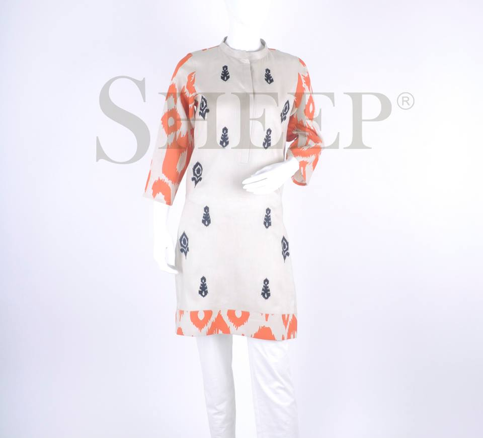 Latest Designs of Casual Formal Kurtis Fancy Embroidered Collection by SHEEP 2015-2016 (29)