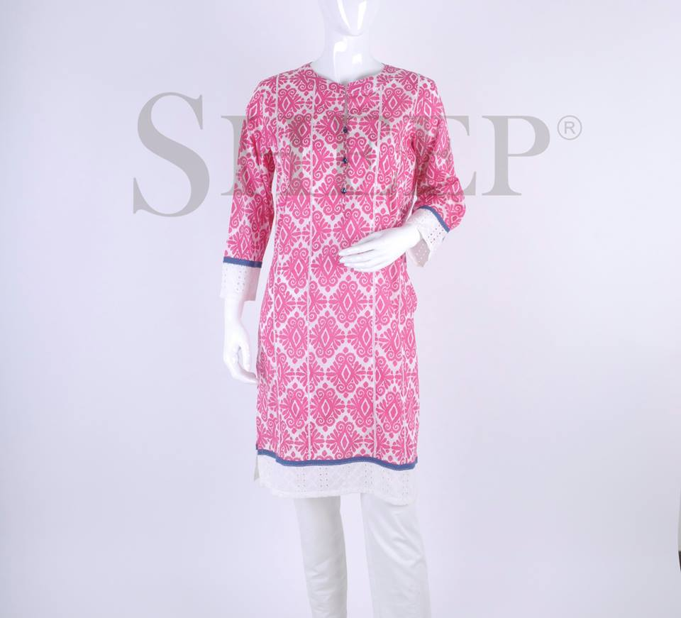 Latest Designs of Casual Formal Kurtis Fancy Embroidered Collection by SHEEP 2015-2016 (4)