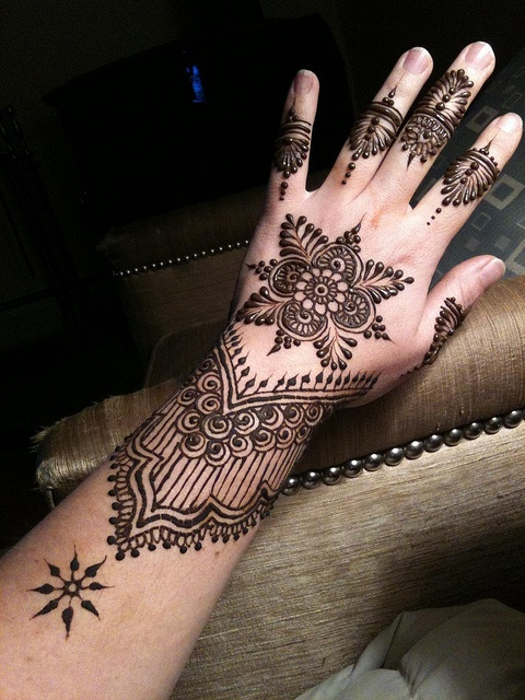 Latest eid mehndi heena designs for hands feet special collection 2015