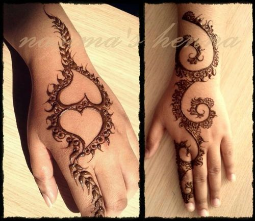 Latest Best Eid Mehndi Designs 2018 2019 Special Collection
