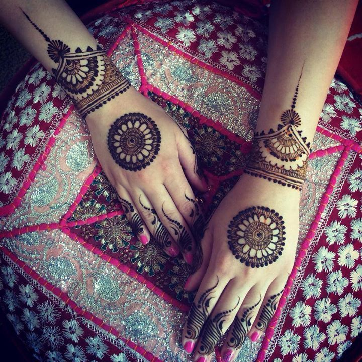 Latest Eid Mehndi Heena Designs for Hands Feet Special Collection for girls 2015-2016 (11)