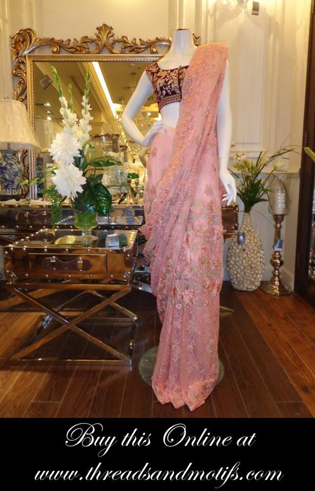 Latest Eid festival Fancy Summer Dresses By Threads & Motifs Formal Collection 2015-2016 (15)