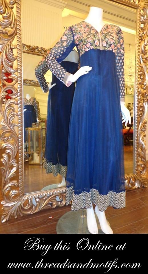 Latest Eid festival Fancy Summer Dresses By Threads & Motifs Formal Collection 2015-2016 (18)