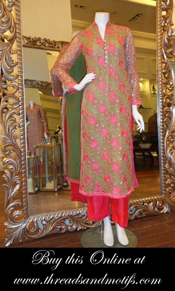 Latest Eid festival Fancy Summer Dresses By Threads & Motifs Formal Collection 2015-2016 (21)