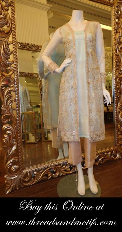 Latest Eid festival Fancy Summer Dresses By Threads & Motifs Formal Collection 2015-2016 (22)