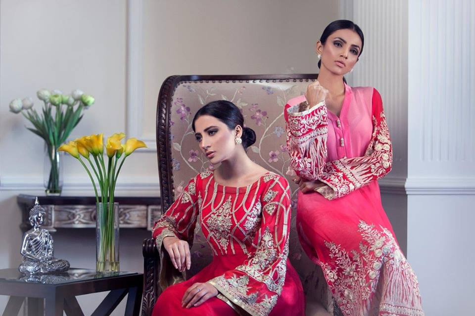 Latest Eid festival Fancy Summer Dresses By Threads & Motifs Formal Collection 2015-2016 (4)