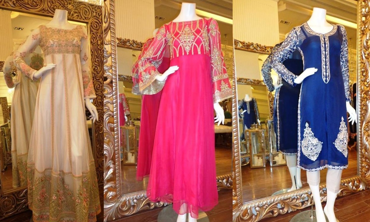 Latest Eid festival Fancy Summer Dresses By Threads & Motifs Formal Collection 2015-2016