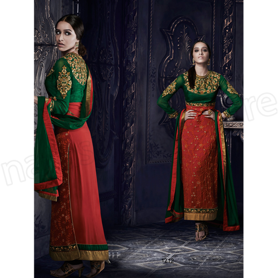 Latest Indian Party Wears Dress Designs Collection 2015-2016 Natasha Couture (2)