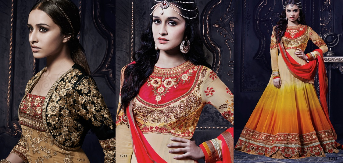 Latest Indian Party Wears Dress Designs Collection 2015-2016 Natasha Couture
