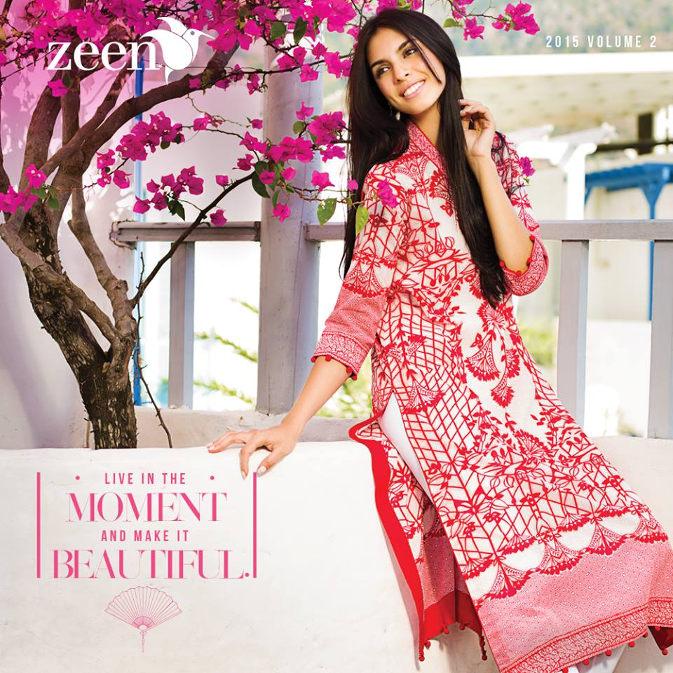 Latest Lawn Suits Zeen by Cambridge Spring Summer Collection 2015-2016 with Prices (1)