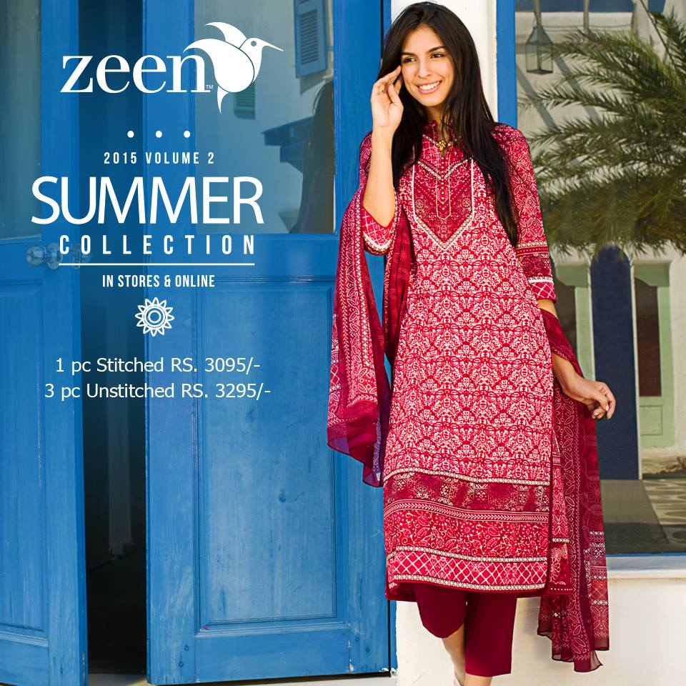 Latest Lawn Suits Zeen by Cambridge Spring Summer Collection 2015-2016 with Prices (13)