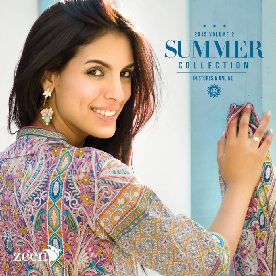 Latest Lawn Suits Zeen by Cambridge Spring Summer Collection 2015-2016 with Prices (14)