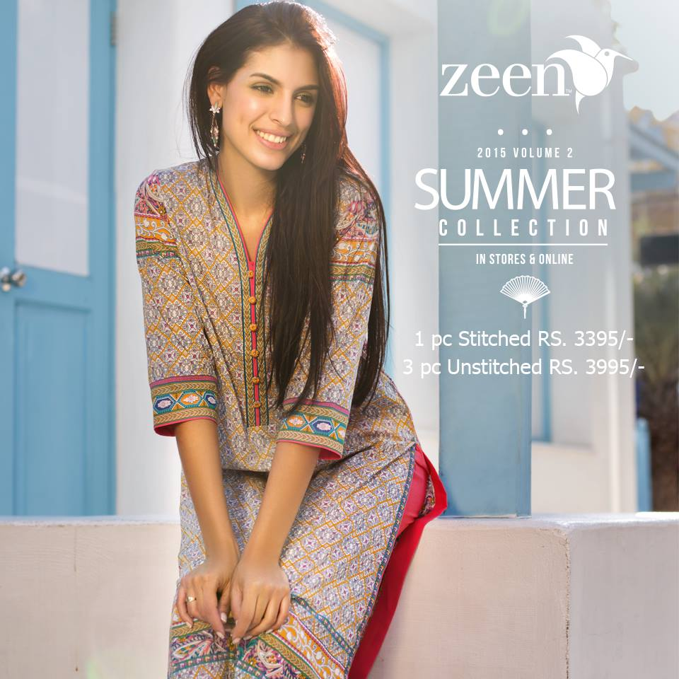Latest Lawn Suits Zeen by Cambridge Spring Summer Collection 2015-2016 with Prices (16)