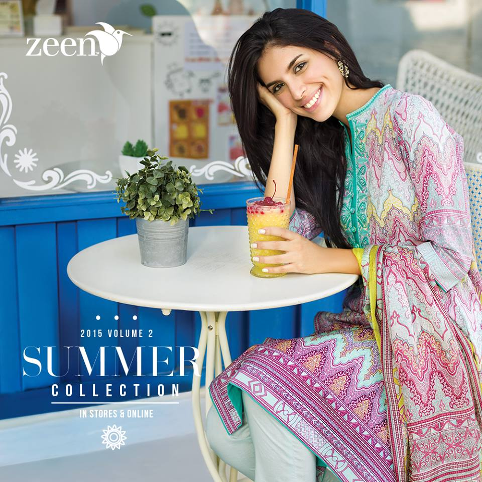Latest Lawn Suits Zeen by Cambridge Spring Summer Collection 2015-2016 with Prices (17)