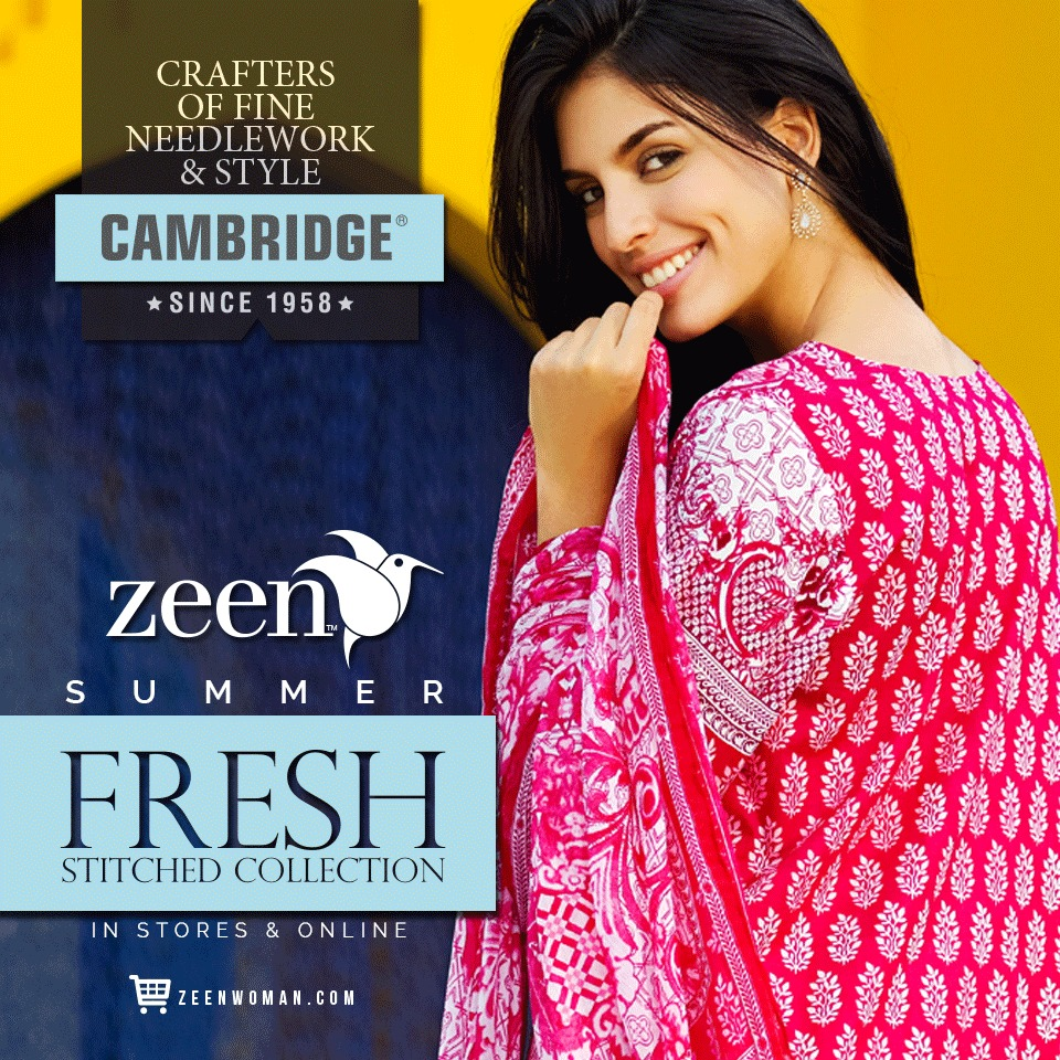 Latest Lawn Suits Zeen by Cambridge Spring Summer Collection 2015-2016 with Prices (3)