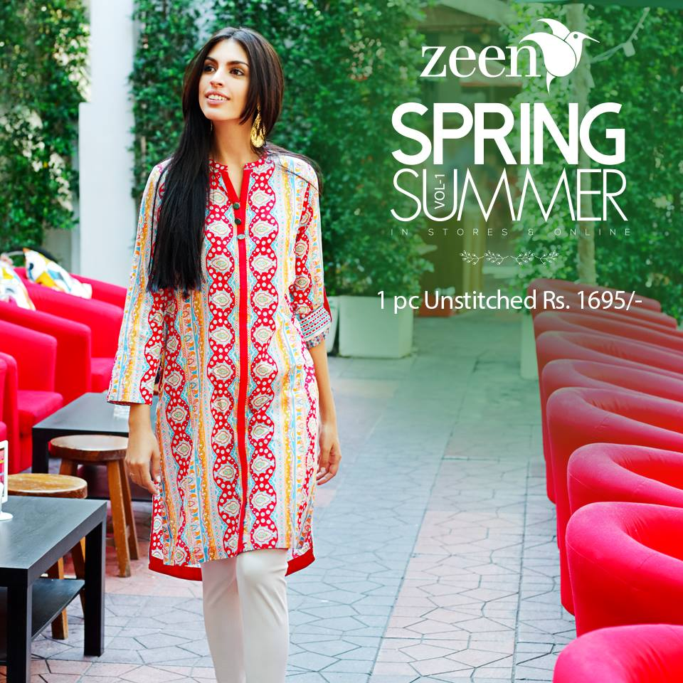 Latest Lawn Suits Zeen by Cambridge Spring Summer Collection 2015-2016 with Prices (4)