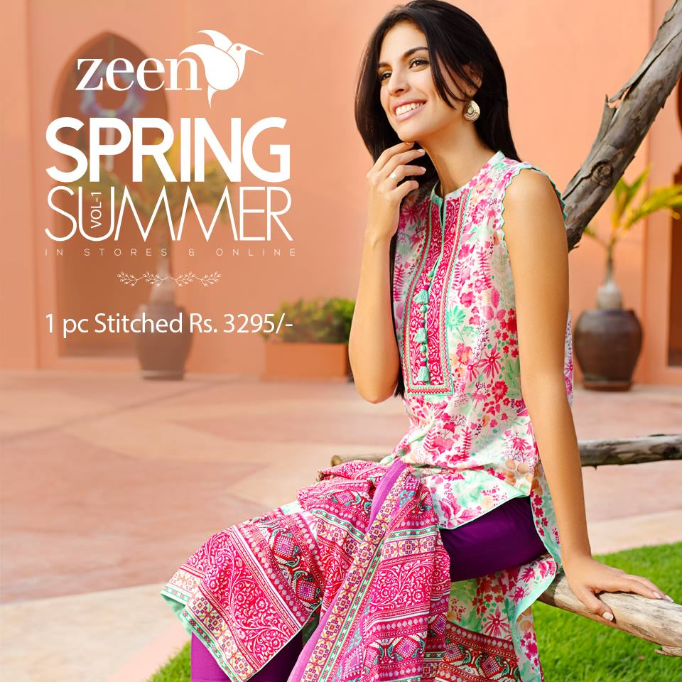 Latest Lawn Suits Zeen by Cambridge Spring Summer Collection 2015-2016 with Prices (6)