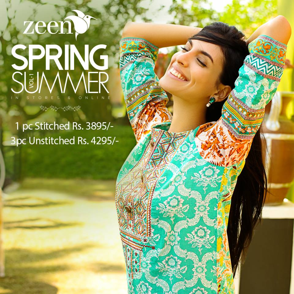Latest Lawn Suits Zeen by Cambridge Spring Summer Collection 2015-2016 with Prices (7)