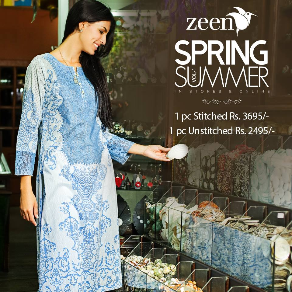 Latest Lawn Suits Zeen by Cambridge Spring Summer Collection 2015-2016 with Prices (8)