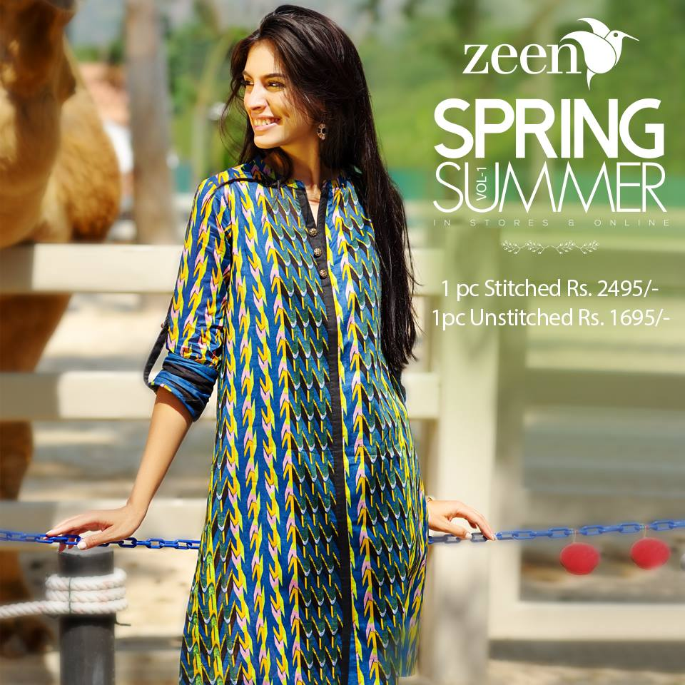 Latest Lawn Suits Zeen by Cambridge Spring Summer Collection 2015-2016 with Prices (9)