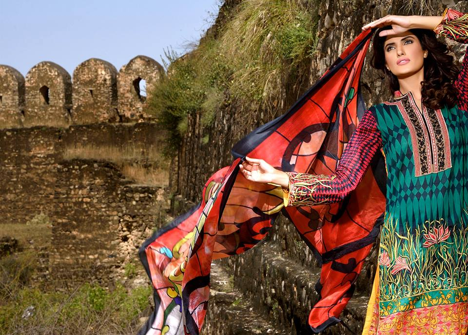 Mehdi Lawn Designs Spring Summer Lawn Collection 2015-2016 by Al Zohaib Textiles (13)
