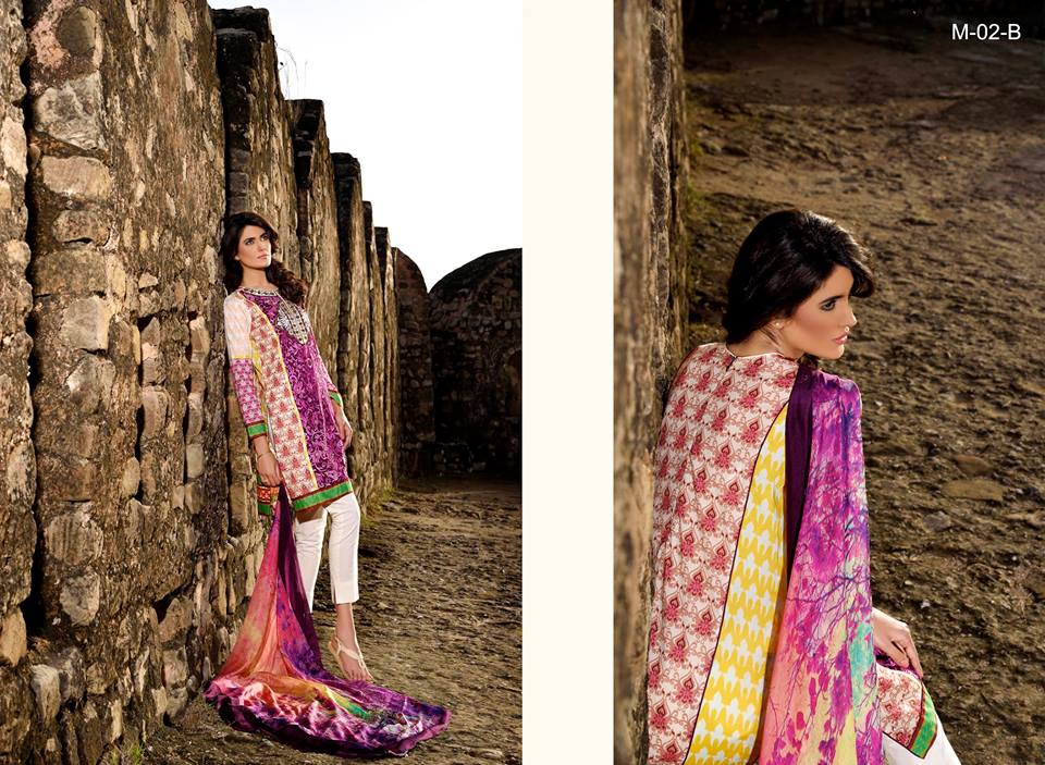 Mehdi Lawn Designs Spring Summer Lawn Collection 2015-2016 by Al Zohaib Textiles (14)