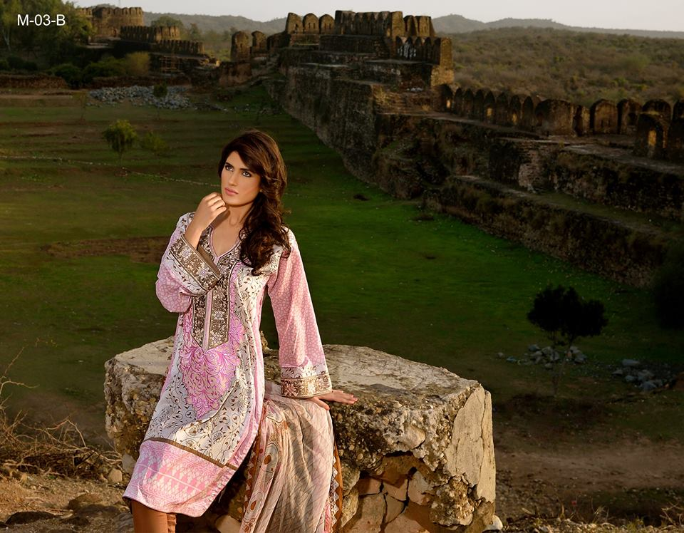Mehdi Lawn Designs Spring Summer Lawn Collection 2015-2016 by Al Zohaib Textiles (18)
