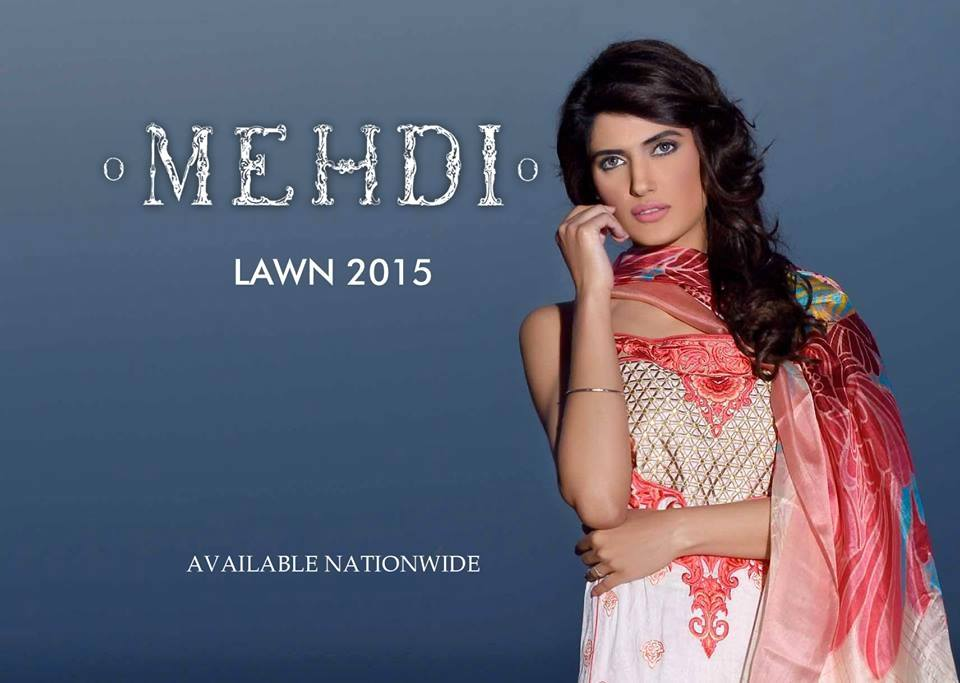 Mehdi Lawn Designs Spring Summer Lawn Collection 2015-2016 by Al Zohaib Textiles (2)