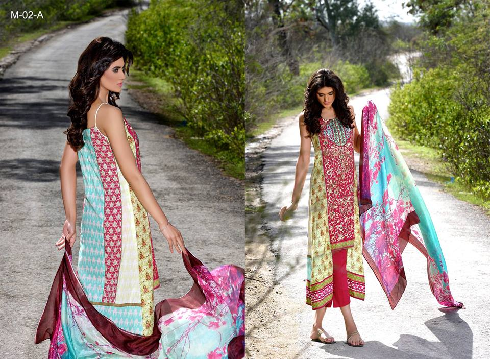 Mehdi Lawn Designs Spring Summer Lawn Collection 2015-2016 by Al Zohaib Textiles (20)