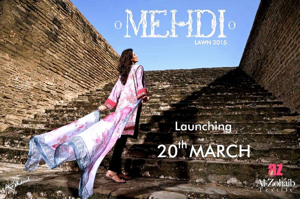 Mehdi Lawn Designs Spring Summer Lawn Collection 2015-2016 by Al Zohaib Textiles (22)