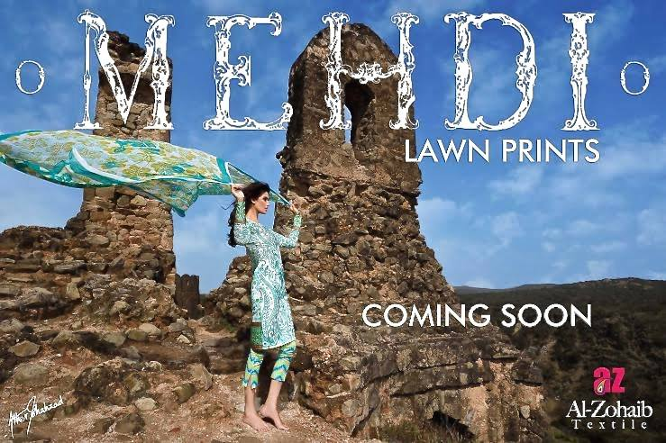 Mehdi Lawn Designs Spring Summer Lawn Collection 2015-2016 by Al Zohaib Textiles (23)