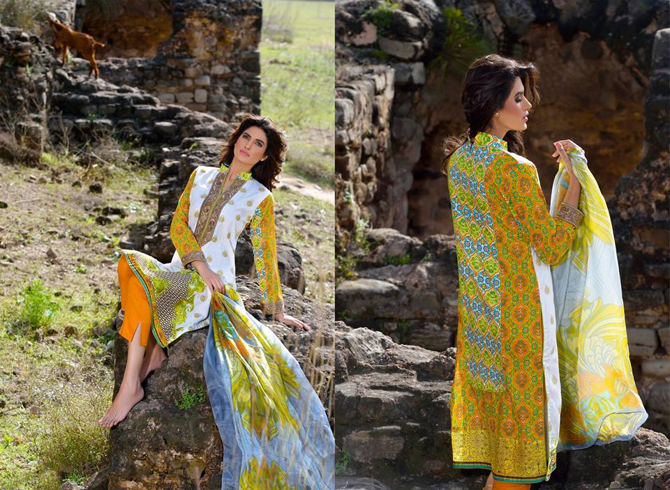 Mehdi Lawn Designs Spring Summer Lawn Collection 2015-2016 by Al Zohaib Textiles (5)