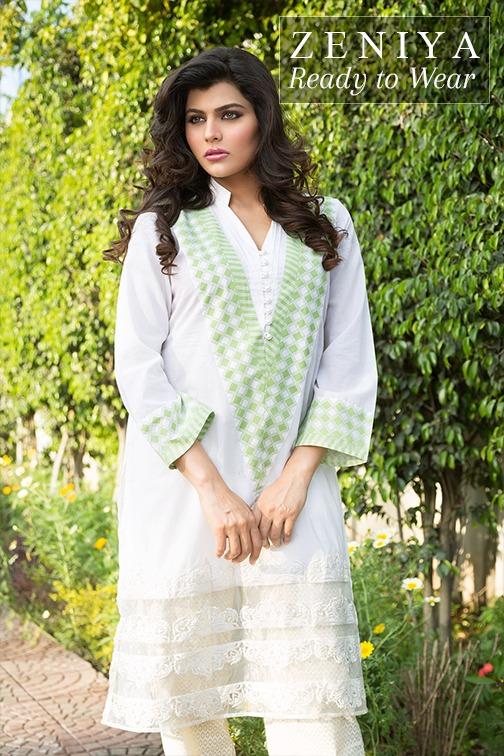Zeniya Lawn by Deepak Perwani Summer Spring Ready To Wear Dresses Collection 2015 (3)