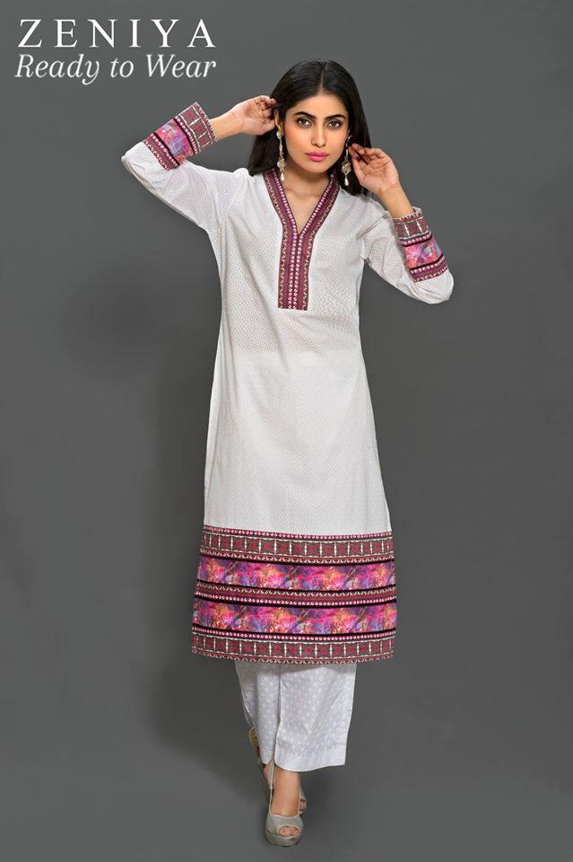 Zeniya Lawn by Deepak Perwani Summer Spring Ready To Wear Dresses Collection 2015 (9)